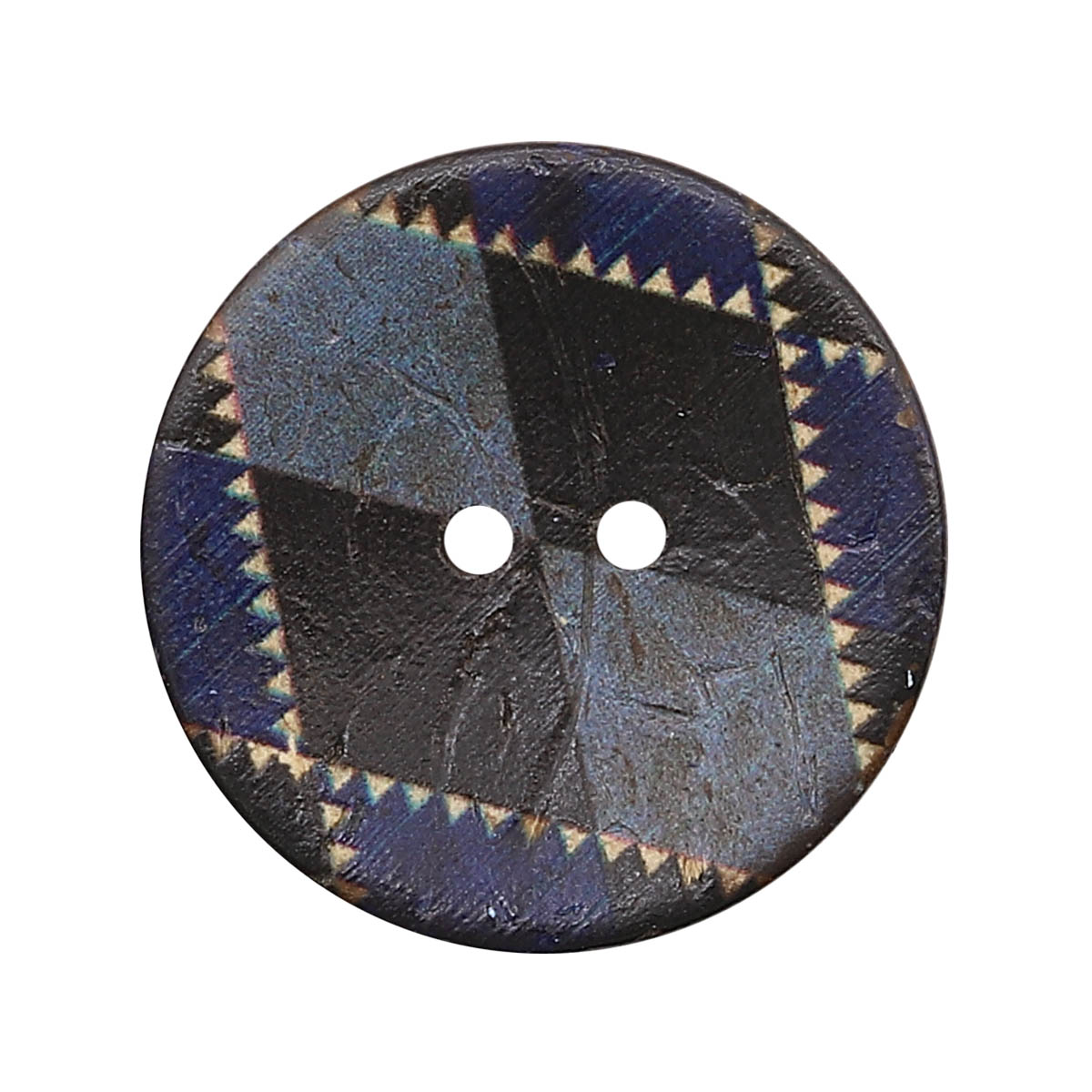 CB R-25 Пуговица кокос 44L (col.C (синий)) фото