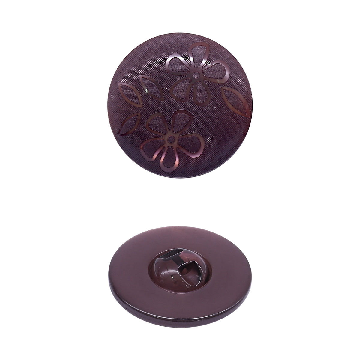 ГАН7452 Пуговица 30мм (868 коричневый)