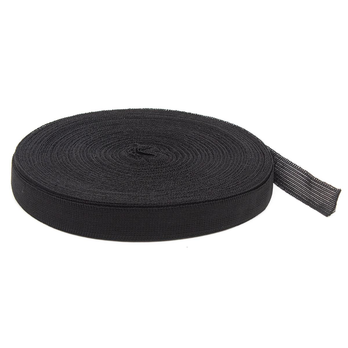60300 Тесьма окантовочная 18мм*30м черный (2,9гр/м)