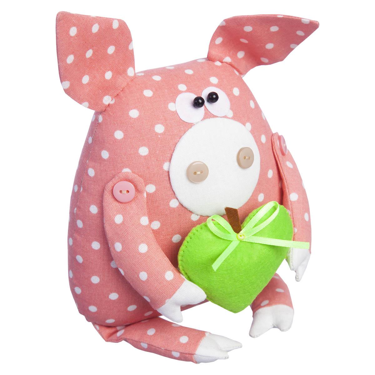 ТК-006 Набор для шитья мягкой игрушки 'Поросёнок Лаврик'