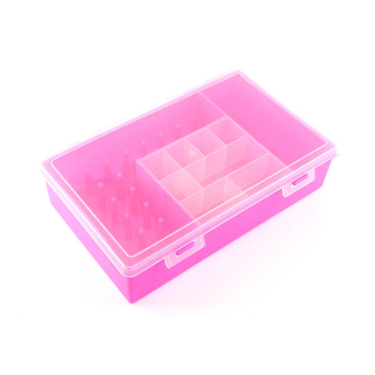 2868-2 ОРГАНАЙЗЕР для швейных принадлежностей розовый