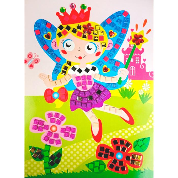 L001 Мозаика-стикеры Color KIT 'Маленькая фея' 26*18,5 см