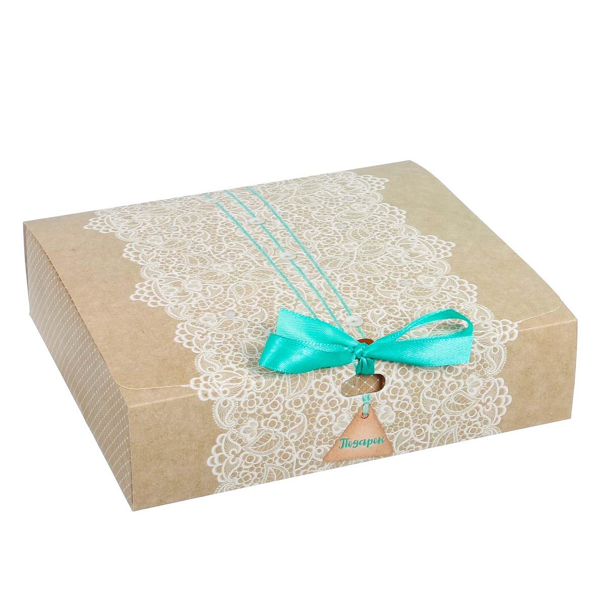 3222439 Коробка подарочная «Подарок», 20*18*5 см