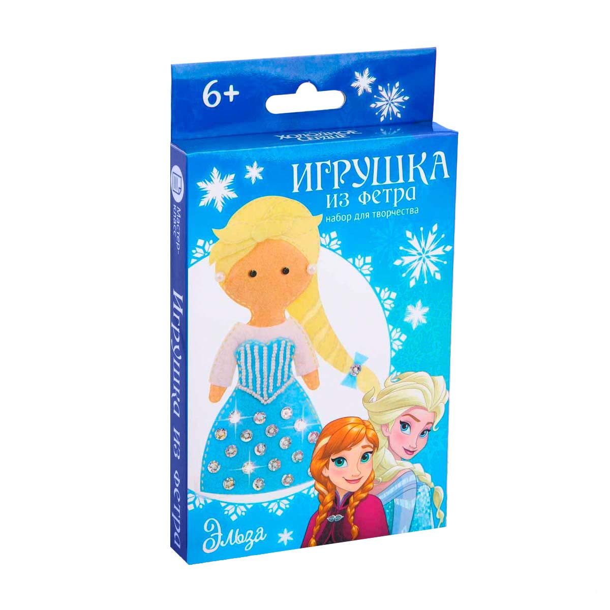 4038684 Набор для создания куколки-игрушки из фетра 'Моя куколка' Холодное сердце: Эльза