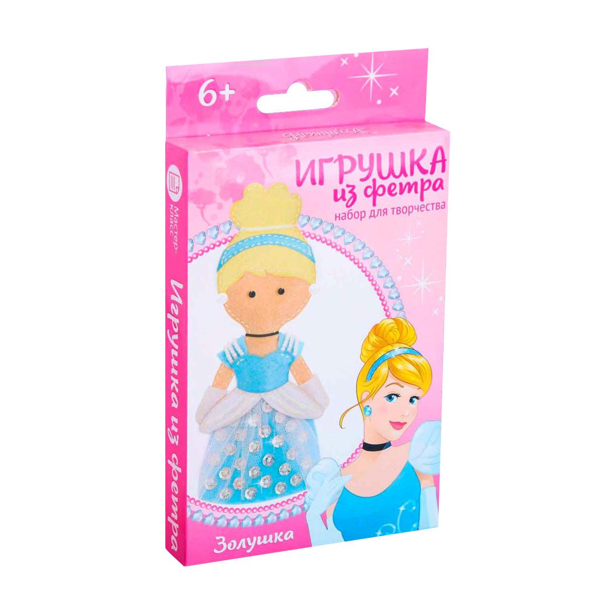 4038685 Набор для создания куколки-игрушки из фетра 'Моя куколка' Принцессы: Золушка