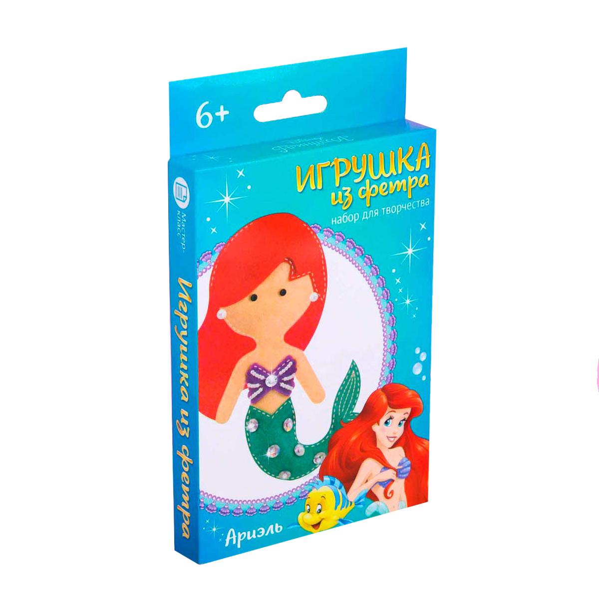 4038686 Набор для создания куколки-игрушки из фетра 'Моя куколка' Принцессы: Ариэль