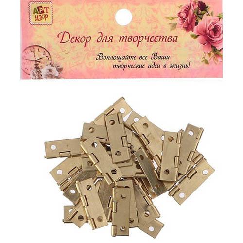 3094190 Петля для шкатулки с прямыми углами 1*2,5 см В-039
