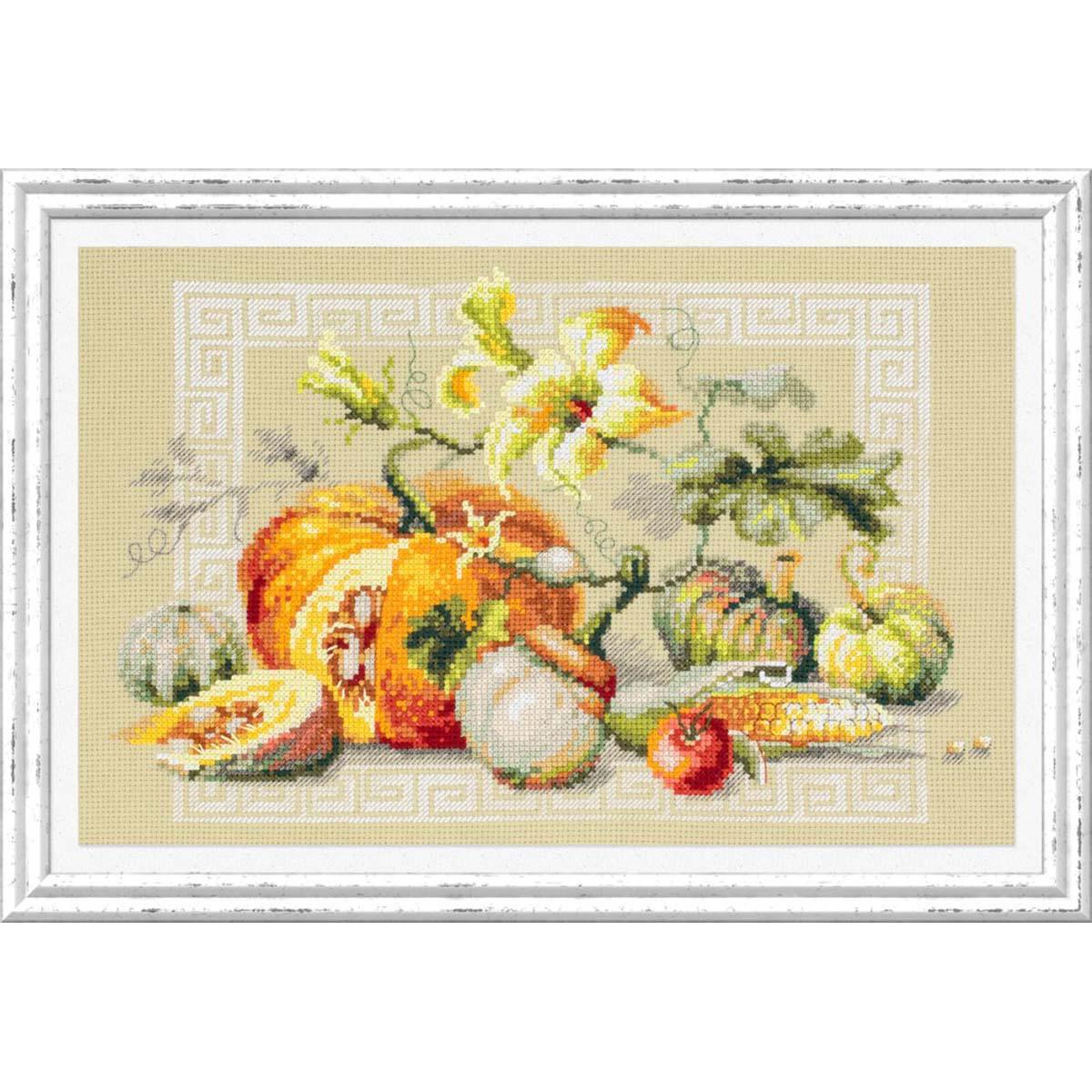 120-111 Набор для вышивания Чудесная игла 'Праздник урожая' 30х20см