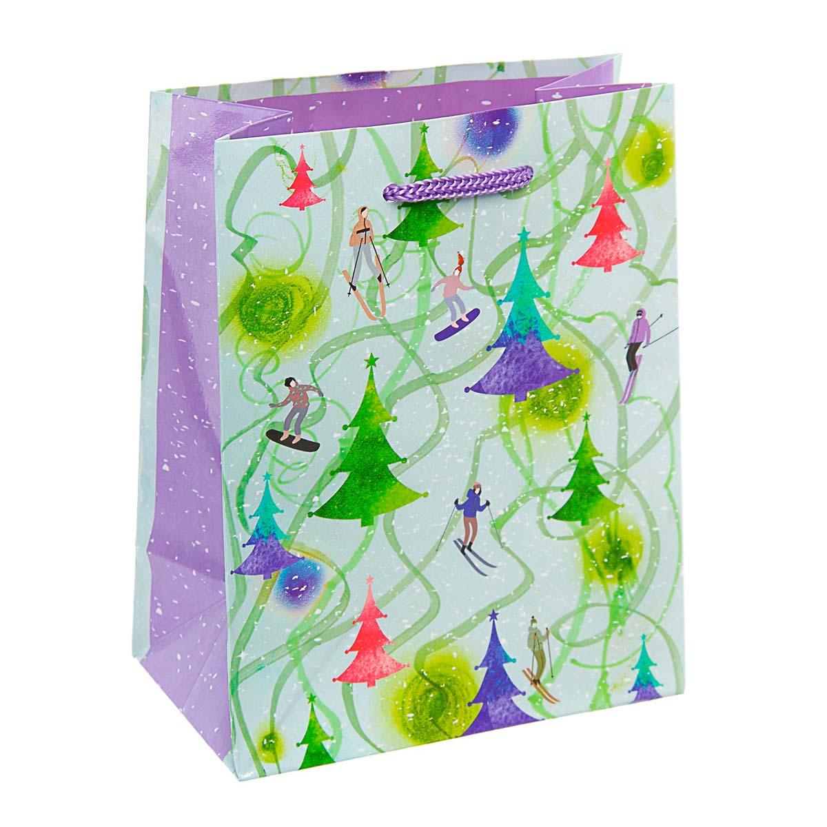 3822047 Пакет подарочный 'Снежные забавы', 11,5*14,5*6,5 см
