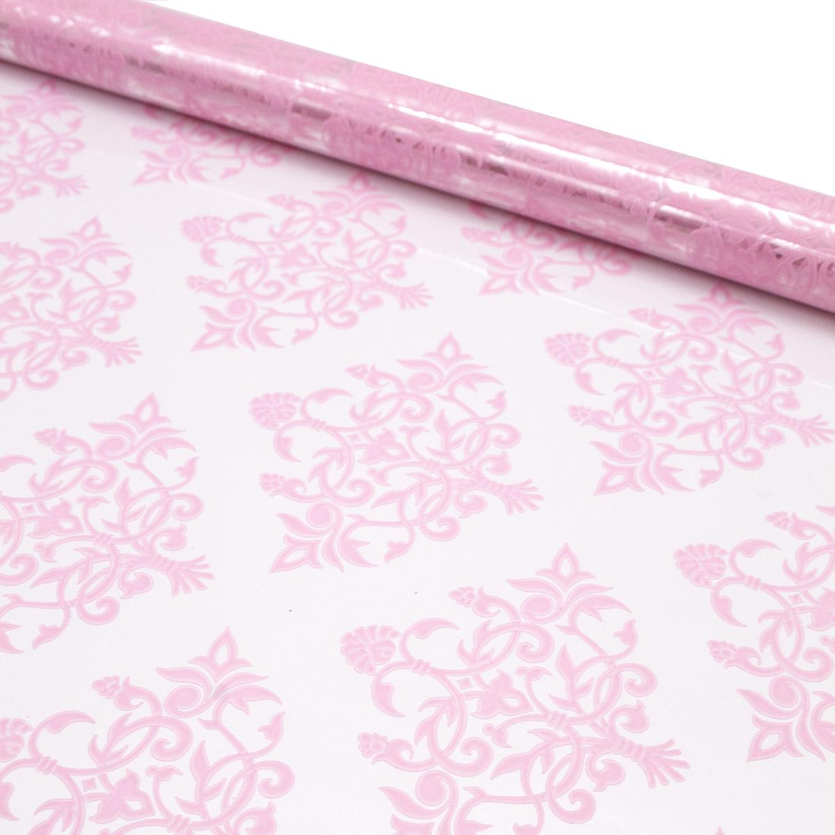 75803 Пленка цветная Нежность 60см розовый жемчужный