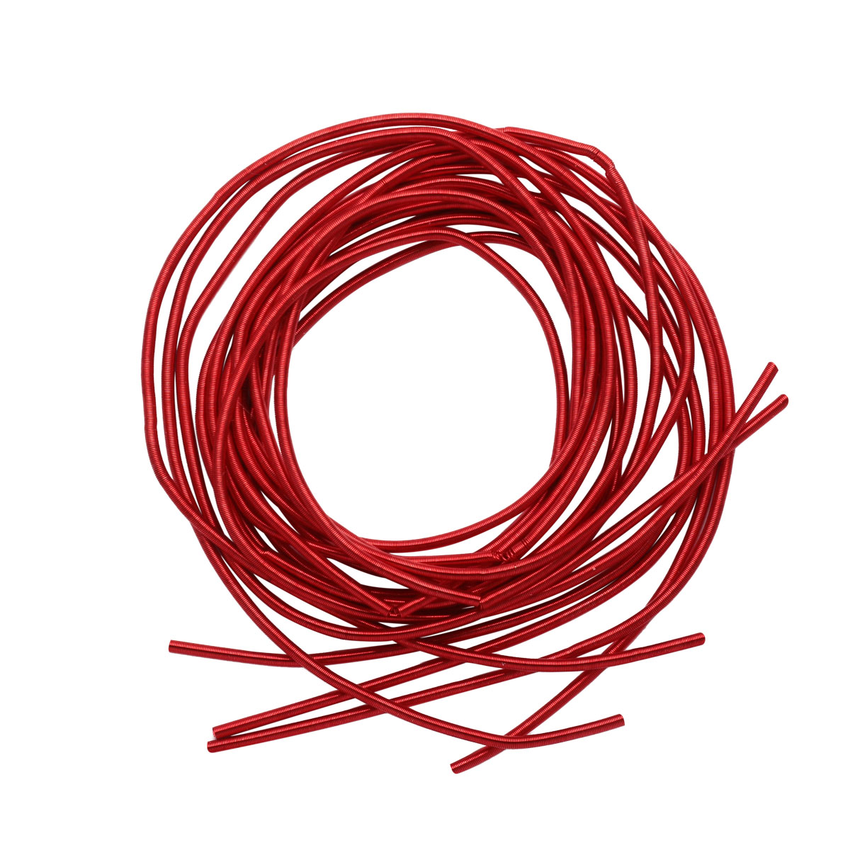 КА005НН1 Упаковка Канитель гладкая Красный 1 мм, 5 грамм +/- 0,5 гр.
