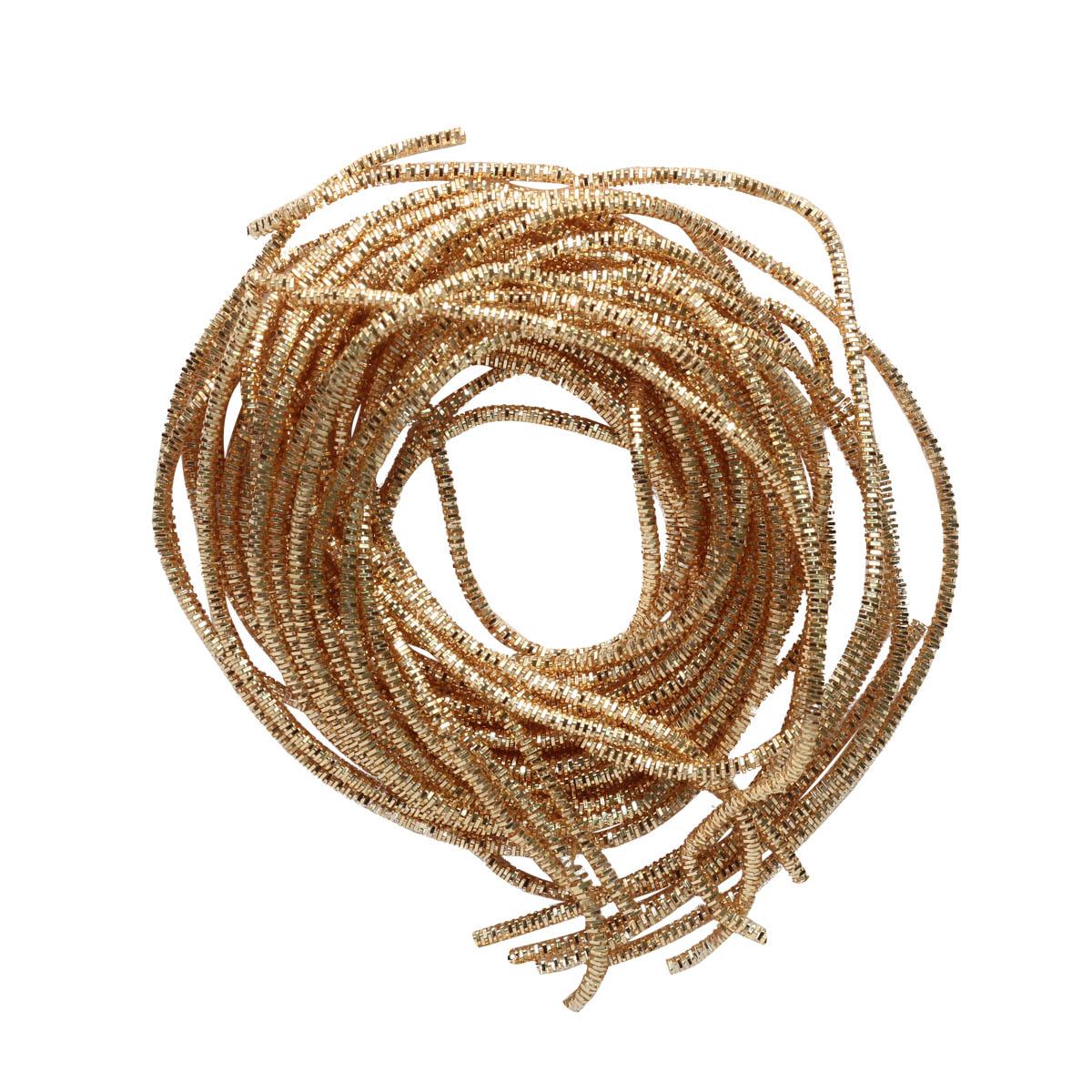ТК005НН07 Трунцал Светлое-золото 0,7 мм 5 грамм +/- 0,1 гр.