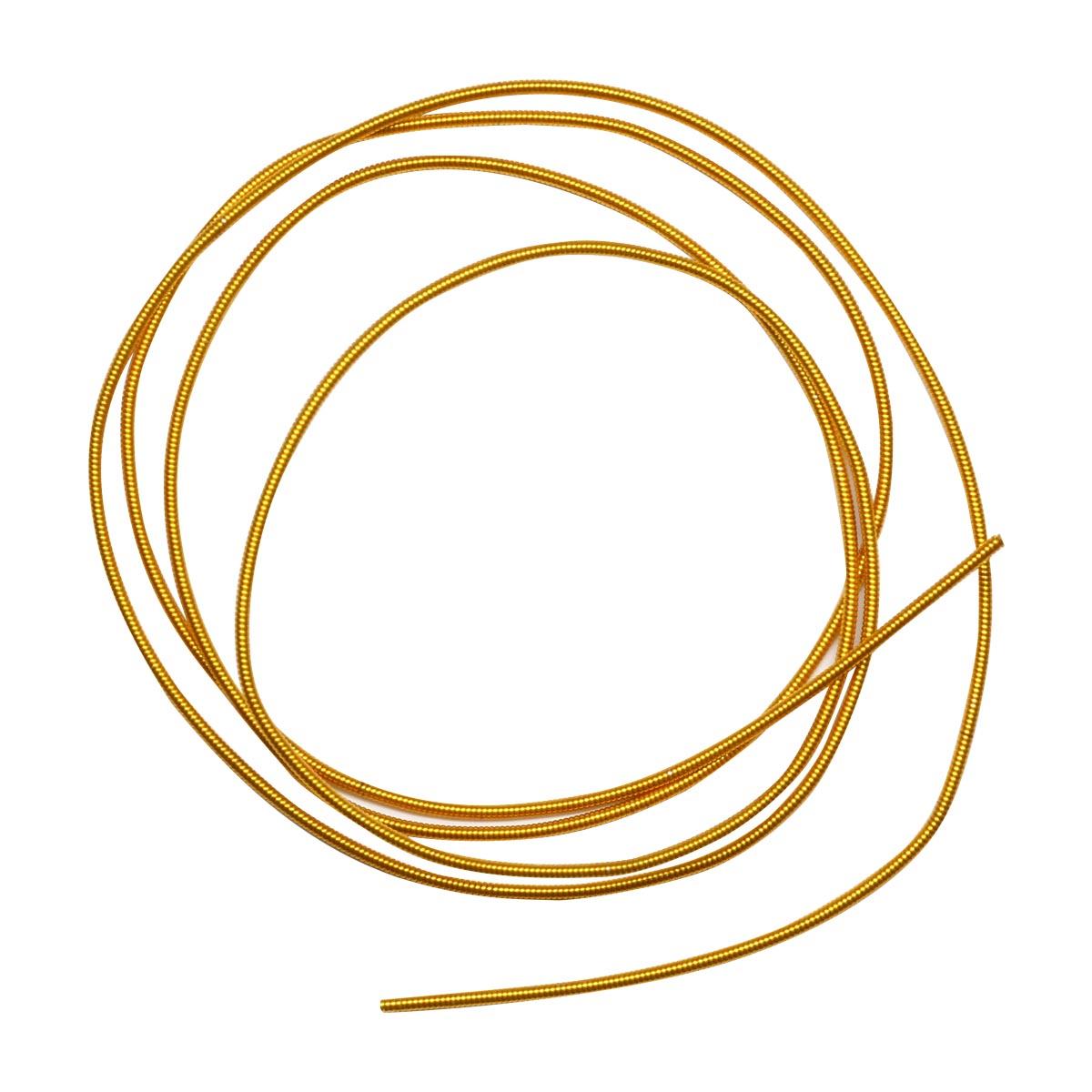 КЖ001НН12 Канитель жесткая Золото 1,2 мм +/- 0,1 гр.