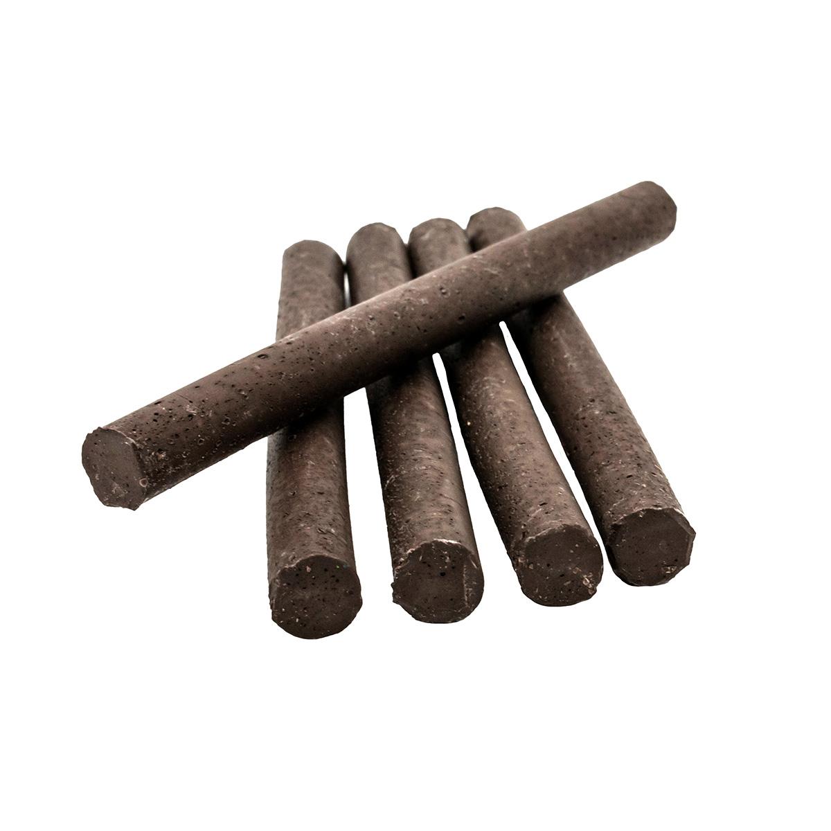 Сургуч в стержнях коричневый для клеевого пистолета, 5шт/упак Астра