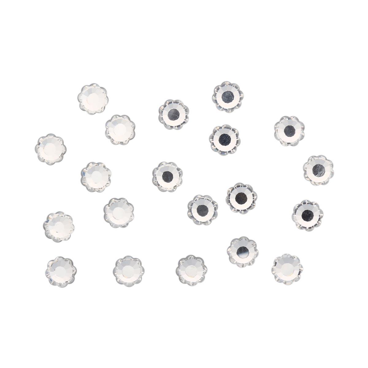 438-02-302 Стразы термоклеевые Цветок Crystal SS34 20 шт. Preciosa