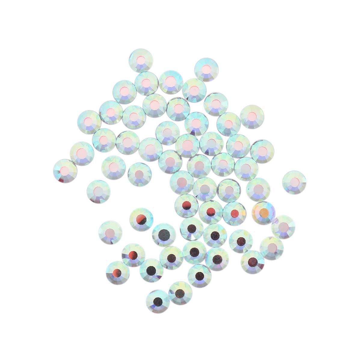 438-11-612 Стразы термоклеевые Crystal AB SS20 60 шт. Preciosa