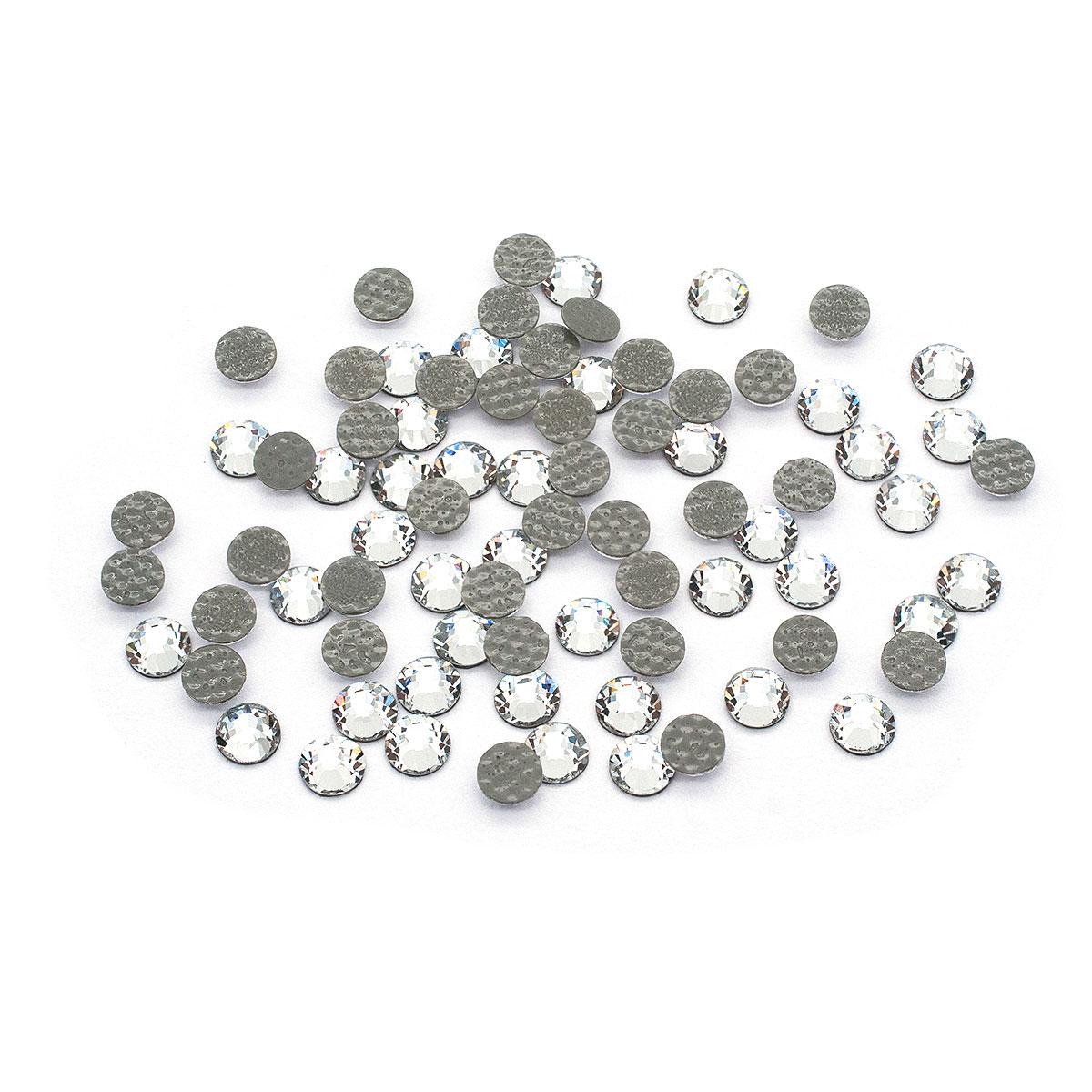 438-11-612 Стразы термоклеевые Crystal SS16 80 шт. Preciosa