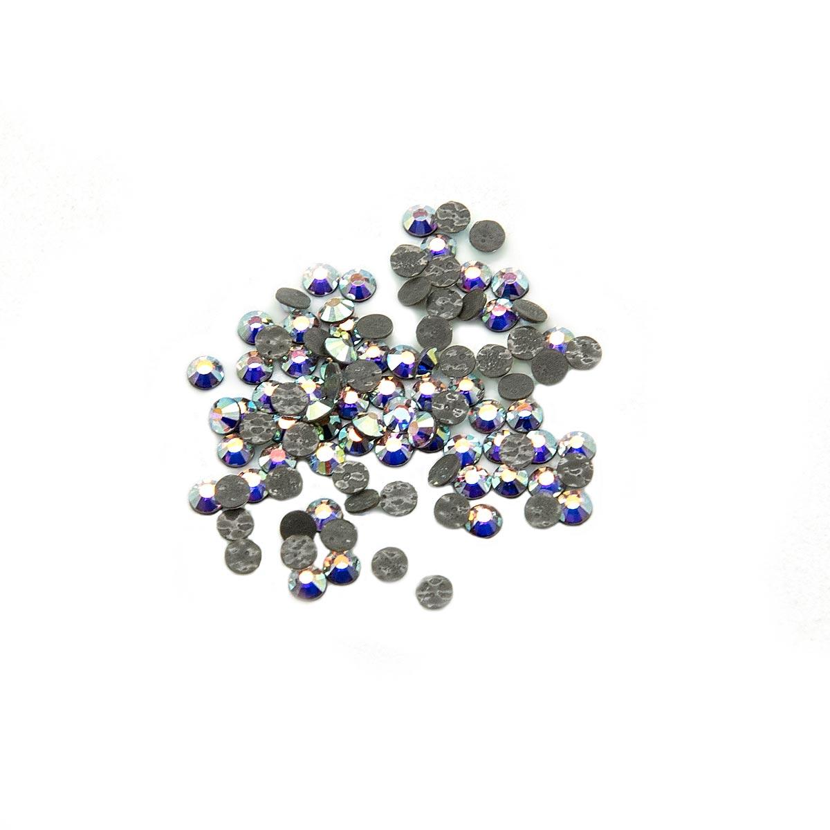 438-11-612 Стразы термоклеевые Crystal АВ SS6 100 шт. Preciosa