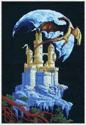 Ф-579 Набор для вышивания 'Таинственный замок' PANNA