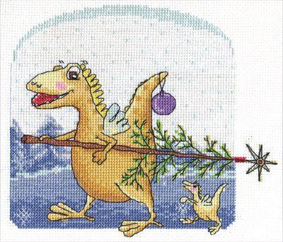 ВК-1258 Набор для вышивания 'Новый год Дракона' PANNA