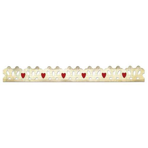 658920 Форма для вырубки Любовные границы Sizzlits Decorative Strip Die