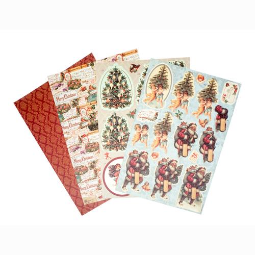 TZ12998 Набор бумаги для скрапбукинга, А 4, 8 листов плотность 180 гр/см3