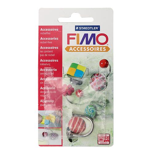 FIMO Аксессуар для украшений, кольцо в U-форме, 1 шт. арт.8625-02