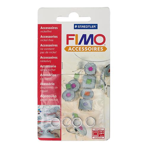 FIMO Аксессуар для украшений, круглая форма, 4 шт. 10 мм. арт.8625-21