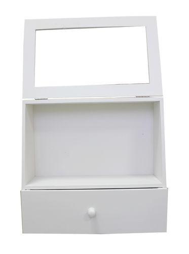 SCB350144 Витринка белая 28*27*11 см