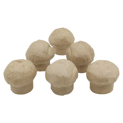 26691-1 Заготовка из папье-маше Кексики 8 см