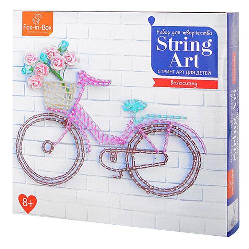 FB606305 Набор для творчества Стринг Арт 'Велосипед'