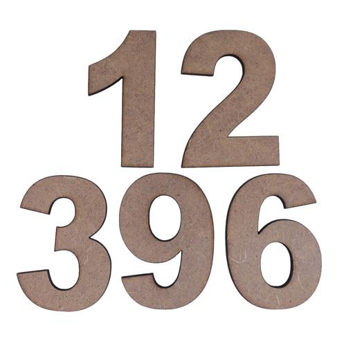 SCB5001061 Заготовка из МДФ набор цифры №2