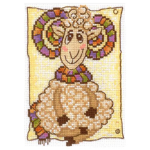 М-31 Набор для вышивания 'Модный шарф', 10*13 см