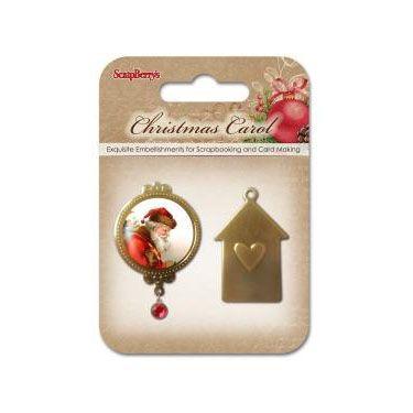 Набор металлических украшений Ночь перед Рождеством SCB3409117