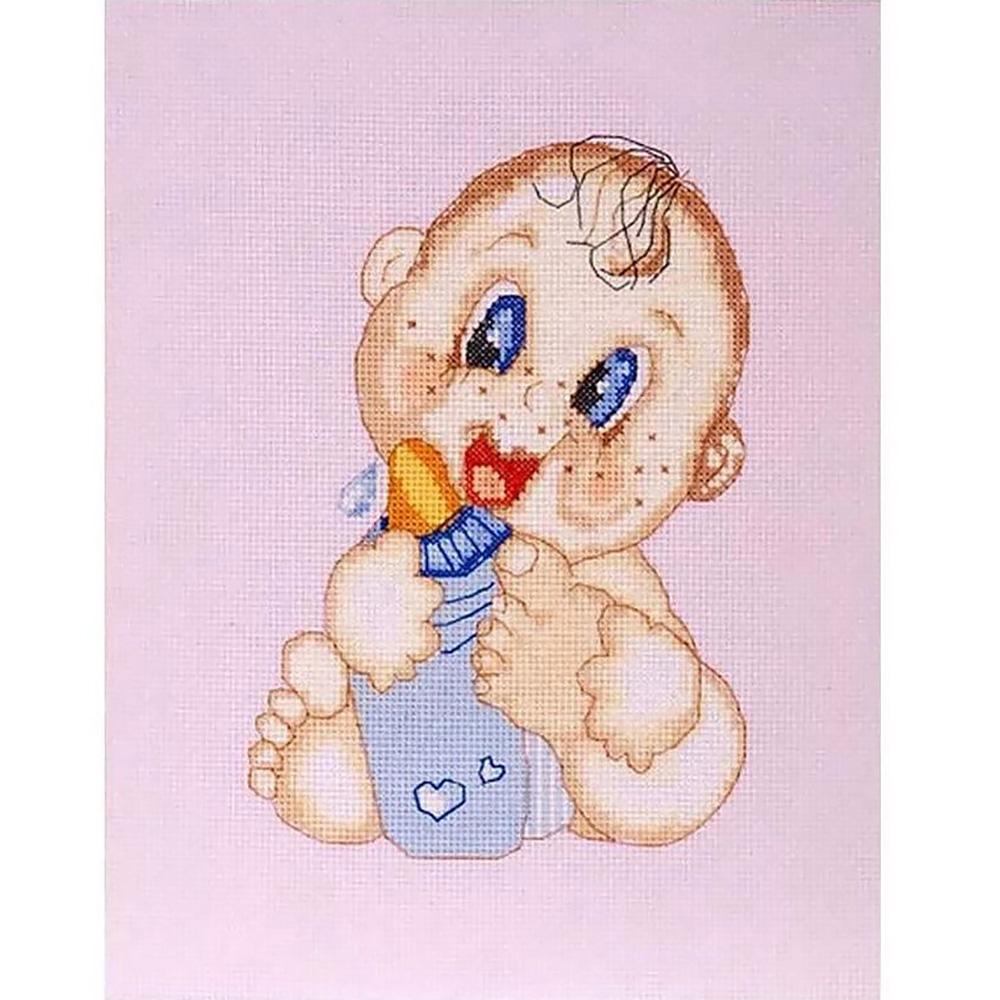"Набор для вышивания 754 ""Малыш"", 14х21 см, Hobby&Pro"