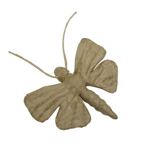 Фигурка из папье-маше, объемная, мини, бабочка 14*9*2 см AP144