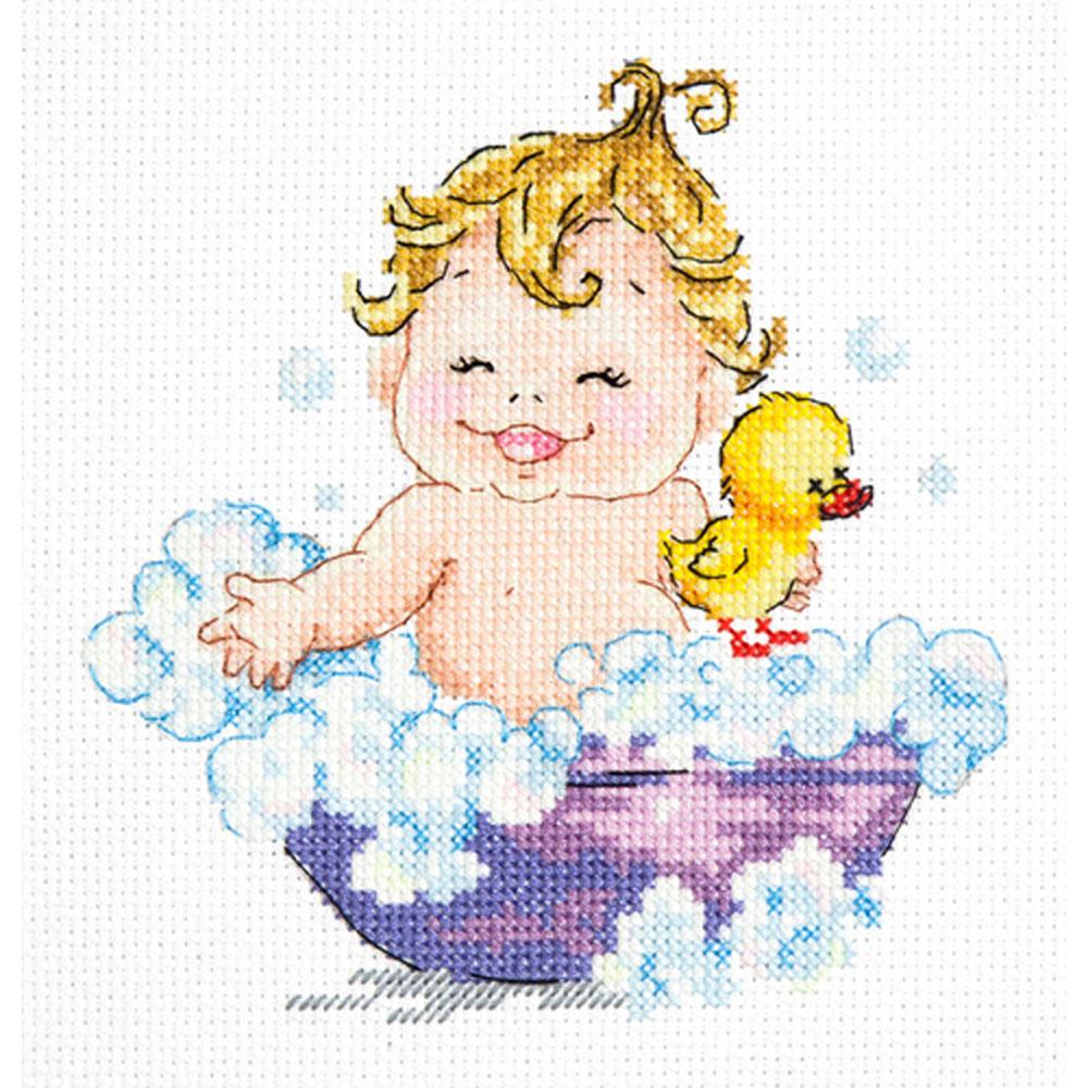 33-23 Набор для вышивания 'Чудесная игла' 'С гуся вода!', 14*14 см