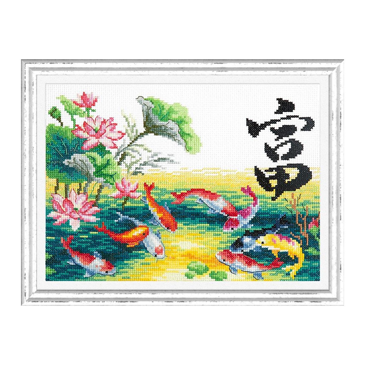 87-03 Набор для вышивания 'Чудесная игла' 'Богатство', 25*18 см