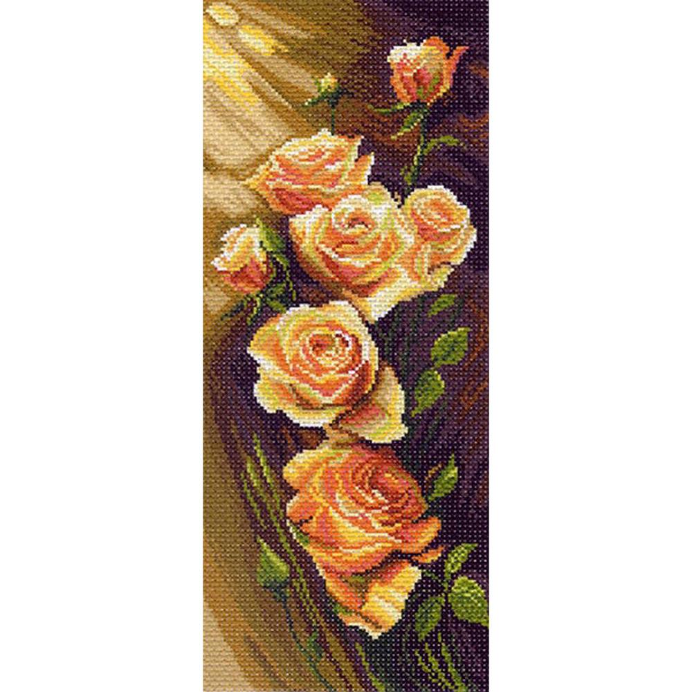1052 Канва с рисунком 'Матренин посад' 'Жёлтая симфония', 24*47 см