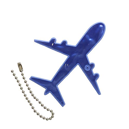 Световозвращатель подвеска 'Самолет', ПВХ, 8 см