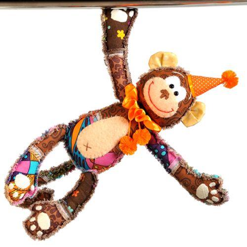 ПМ 805 Набор для изготовления текстильной игрушки 'Обезьянка Анфиса' 30,5см