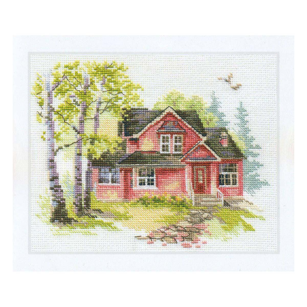 3-19 Набор для вышивания АЛИСА 'Майский домик' 18*14см