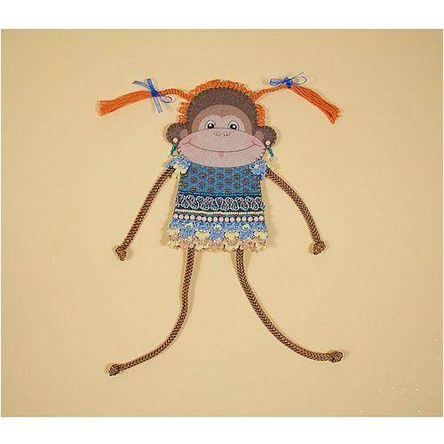 8276 Набор для шитья и вышивания 'Матренин посад' чехол на бутылку 'Обезьянка Чи-Чи' фото
