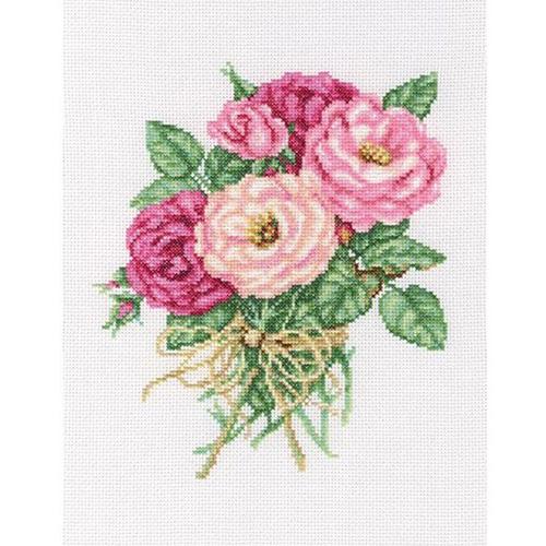 М563 Набор для вышивания RТО 'Букетик роз', 19х22 см
