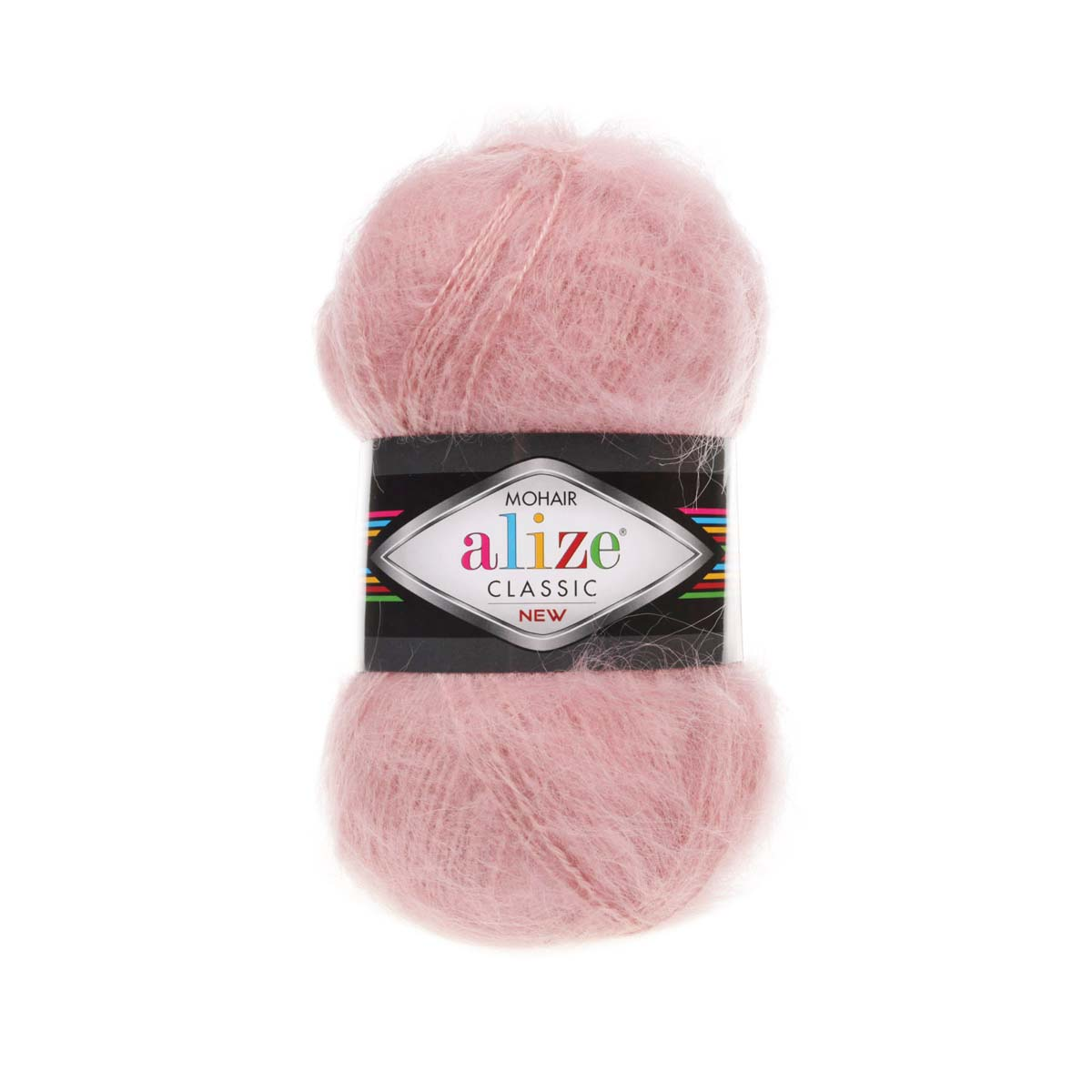 Пряжа ALIZE 'Mohair classic new' 100гр. 200м (25%мохер, 24%шерсть, 51%акрил)