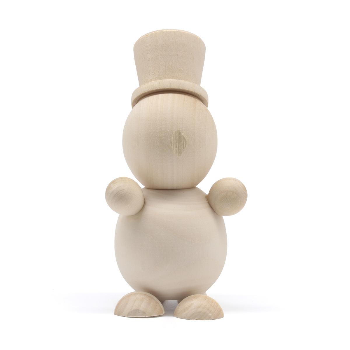 Деревянная заготовка Снеговик, 9,5 *5,5 см