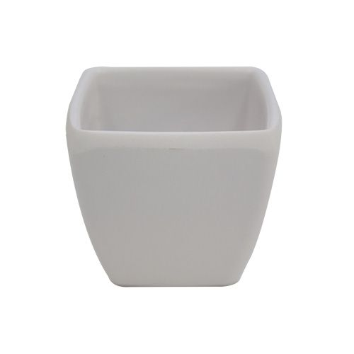 Горшочек KR03 декор.,5,2*5,2см,h=5,0см,пластик,белый