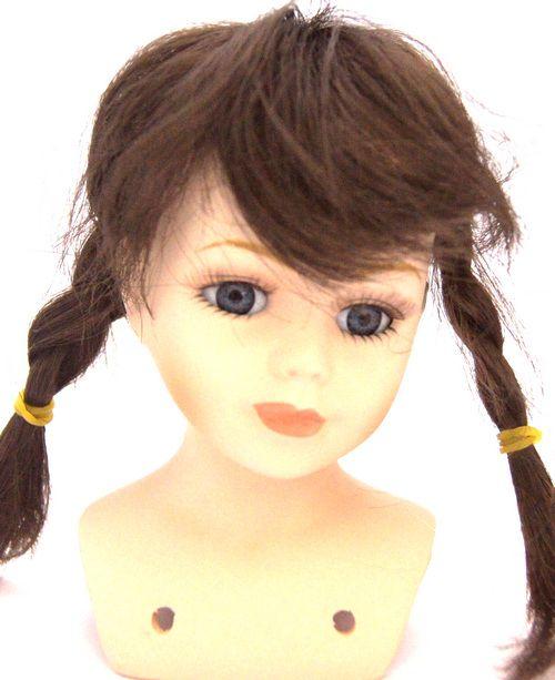 23769 Волосы для кукол П 30,косички, цв.К
