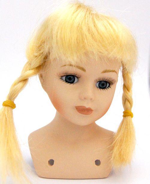 23768 Волосы для кукол П 30,косички, цв.Б