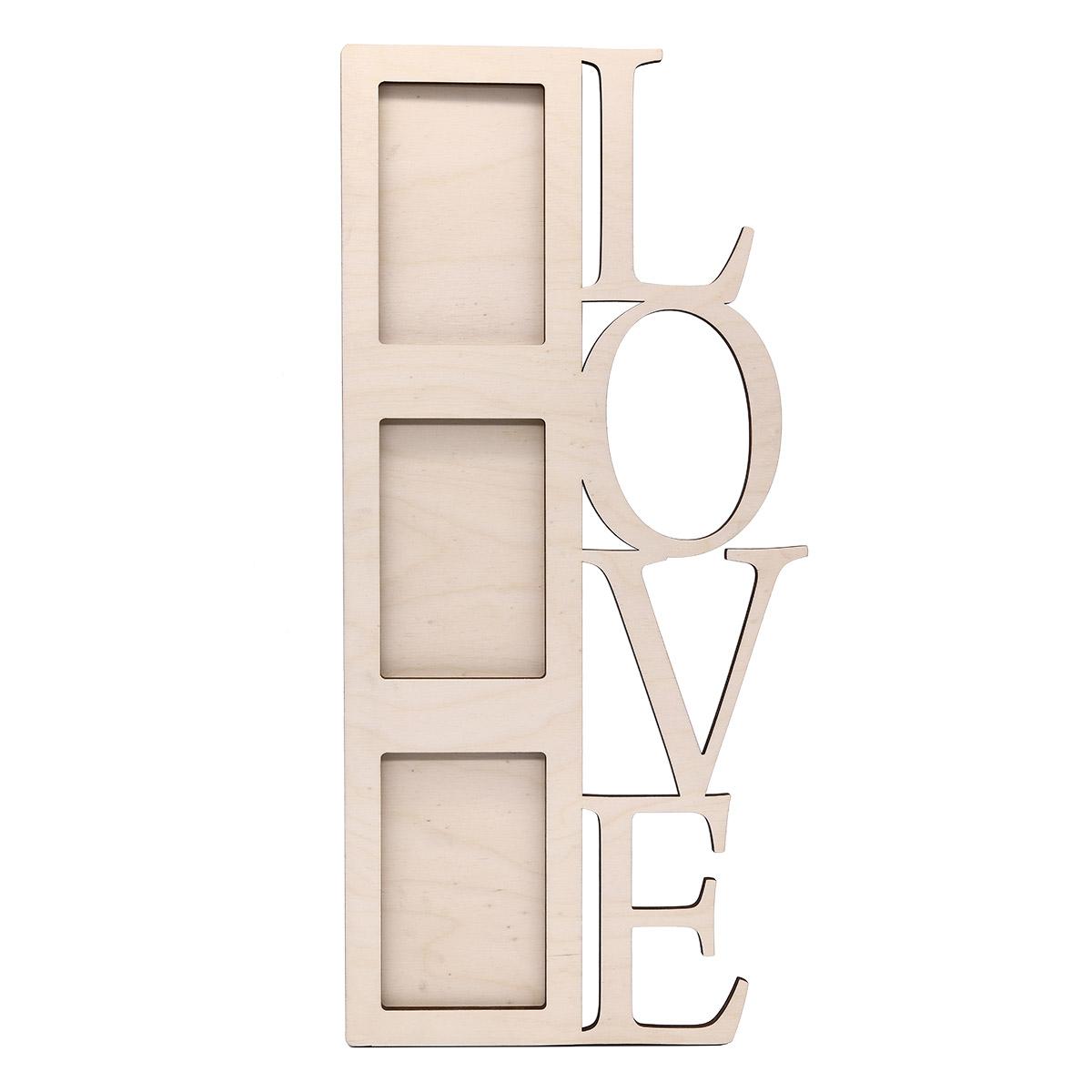 L-444 Деревянная заготовка 'Love', 54*25,5 см, 'Астра'